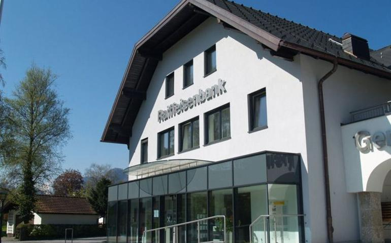 Raiffeisenbank Anif Umbau